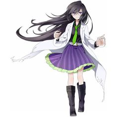 scientist Anime Girls other ❤ liked on Polyvore featuring anime, anime girls, manga, people and random