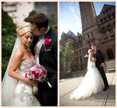 Real Weddings | Kimberly + Nathan | PreOwnedWeddingDresses.com