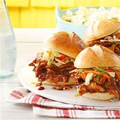 35 Slow Cooker Recipes You'll Actually Use This Summer - Too hot to turn on the oven? Switch on your slow cooker instead. These slow-simmered recipes are perfect for a sunny backyard barbecue or spur-of-the-moment picnic.