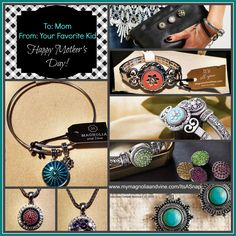 Don't be afraid to be Mom's favorie this Mother's Day! Get her quality, customizable snap jewelry!  Want to see more, host a social (online socials are available) or want to know more about joining my team? Find me at www.Facebook.com/groups/ItsASnap
