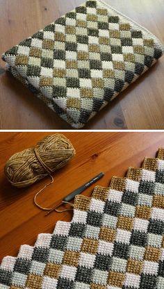 Baby Afghan Crochet Patterns, Crochet Quilt, Knitting Patterns, Yarn Projects, Crochet Projects, Crochet Ideas, Crochet Diagram, Free Crochet, Crochet Gifts