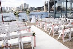 Wedding Ceremony at Sebel Pier One, Sydney Wedding Reception, Wedding Venues, Sydney Wedding, Wedding Locations, Real Weddings, Wedding Inspiration, Table Decorations, Water, Home Decor