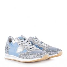 Damen Sneaker Tropez Glitter Avion Silver Designer, Glitter, Sneakers, Silver, Shoes, Fashion, Tennis Sneakers, Sneaker, Zapatos