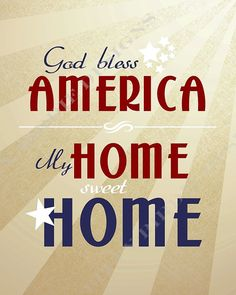 Patriotic printable.  It's not too early is it?