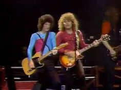 REO Speedwagon - Ridin' the Storm Out (1981) One of my all-time favorite live performances. So good in fact that it is better known as the actual song than the original studio version.,