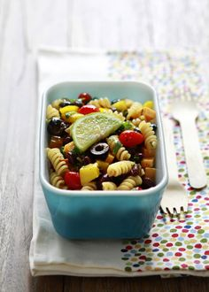 mexican pasta salad for lunch
