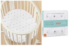Aden + Anais new crib sheets for the @stokkebaby sleepi on @coolmompicks