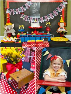Party Printables | Party Ideas | Party Planning | Party Crafts | Party Recipes | BLOG Bird's Party: Back to School: Junie B. Jones Inspired ...