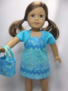 American girl doll sundress by CindyrellasCloset on Etsy, $17.00