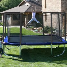 Skywalker 15-ft. Square Trampoline and Enclosure Combo - SWTCS015