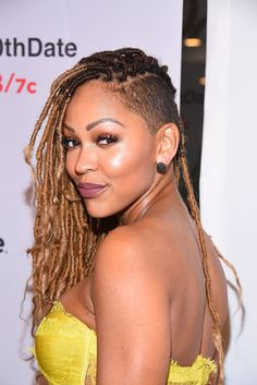 Meagan Good   - 21 Celebrity Shaved Hairstyles That'll Bring Out Your Inner Rockstar