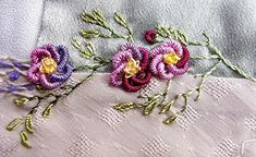 Bullions and French Knots by crazyQstitcher