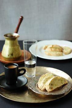 Ouzo and pistachio biscotti ----Ouzo and Pistachio Paximadia (Souvlaki For The Soul)