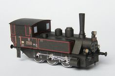 Today we have the Steam Locomotive Series 310.433 (ex. MAV XII, later 377) paper craft model.