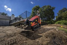 Ditch Witch Introduces SK1050 Mini Skid Steer (Compact Tool Carrier) #construction #compact