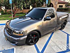 Lowered F150, Ford Lighting, Svt Lightning, Ford Svt, Chevrolet Ss, Hell On Wheels, Ford F Series, Garage Makeover, Custom Trucks