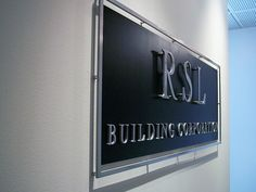 Metal Business Sign for Wall | Flickr - Photo Sharing!