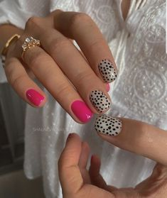 Stylish Nails, Trendy Nails, Make-up-tipps Und Tricks, Fire Nails, Minimalist Nails, Cute Acrylic Nails, Cute Gel Nails, Pink Nail Art, Dream Nails