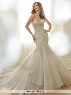 Sophia Tolli Bridal Y11729-Arielle  Sophia Tolli Bridal for Mon Cheri Seng Couture