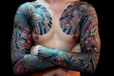 Jap sleeves #irezumi #tattoo