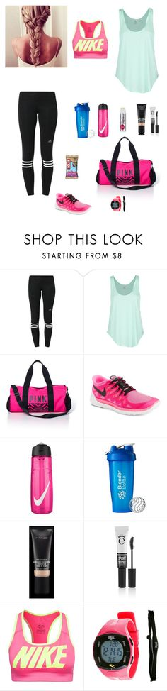 """""""Ready for a Gym Day"""" by avs9902 ❤ liked on Polyvore featuring adidas, Rip Curl, Victoria's Secret PINK, NIKE, MAC Cosmetics, Eyeko, Everlast and Chapstick"""