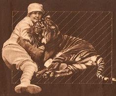Chronicles of a Twisted-Sistah-Knitta: #9) Feline Fatale ~ Mabel Stark
