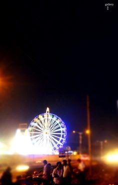 giant wheel of Mysore Exhibition ground!