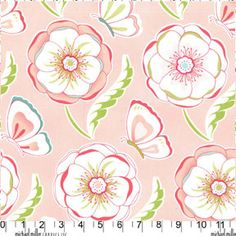 Michael Miller Bella Butterfly Fabric by BaileyGirlsFabric on Etsy, $8.75