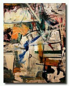 #dekooning #modernart #abstractart