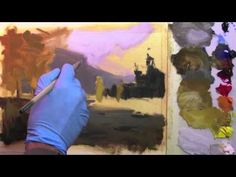 Enjoy this http://ArtistsNetwork.tv preview of Painting Landscapes: Atmospheric Perspective with Richard Robinson for painting tips on achieving atmospheric perspective in the background of your landscape painting.
