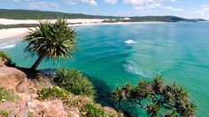 Fraser Island, off the coast of Queensland, Australia, is the world's largest sand island