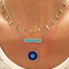 Jennifer Meyer necklaces - these are great for stacking!