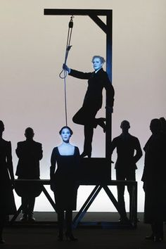 Die Dreigroschenoper / L'Opéra de quat' sous Of Bertolt Brecht Music, Kurt Weill Direction,stage design, light, Robert Wilson