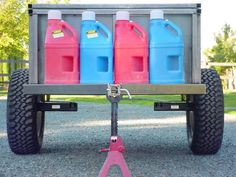 High Clearance Offroad Trailer - : and Off-Road Forum Camp Kitchen Box, What Are You Like, 4 Person Tent, Off Road Trailer, Expedition Vehicle, Gas Station, Offroad, 4x4, Trailers