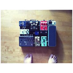 Great selection for the size!  I do love a small, efficient board, and this one is packed full of sound.