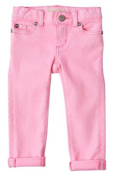 Peek 'Maya' Skinny Jeans (Baby Girls) available at #Nordstrom