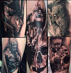 A selection of work, from one of the featured artists at the North East Tattoo Expo 2014, held at The Arc Stockton on the 14th -15th June 2014 http://www.northeasttattooexpo.co.uk #northeasttattooexpo #tattoo #northeast #tattooartist #tattooconvention #tattoos #paultalbot