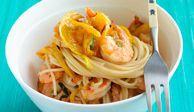 Sesame Shrimp and Noodles