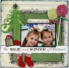 Layout: Magic & Wonder cute!