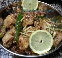 How to Make Makhani Karahi: Chicken – 1 kg or 20 pieces Yogurt – ½ cup Lemon… Fried Fish Recipes, Veg Recipes, Cooking Recipes, Indian Chicken Recipes, Indian Food Recipes, Chicken Karahi, Chicken Curry, Pakistani Dishes, Pakistani Recipes