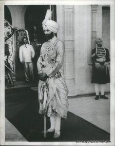 Maharaja Yadavindra Singh of Patiala. By Rohit Sonkiya
