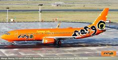 Mango Boeing (ZS-SJL) Mango is owned by South African Airways, which is itself owned by the government of South Africa Mango Airlines, South Africa, African, Pictures, Image, Photos, Grimm