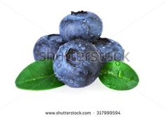 blueberries stack