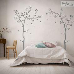 Vinilo Adhesivo Decorativo Cabeceros - Cabecero Árboles. El dormitorio nos…