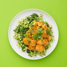 Chicken Korma Curry. With super greens.