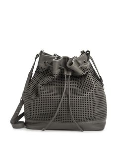 Completely stunning Perforated Bucket Bag from Woolworths - definitely on my Mothers Day wish list!