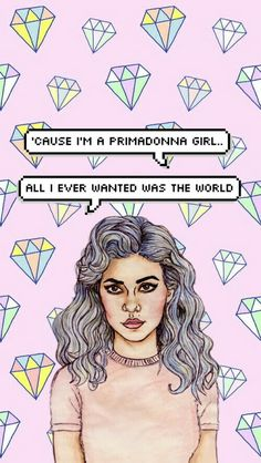Marina and The Diamonds IPhone Wallpaper! ❤