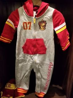One-Pieces 163425: New Harry Potter Gryffindor Baby Unisex Outfit Harry Potter Romper 6 Months Nwt -> BUY IT NOW ONLY: $43 on eBay!