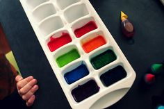 Homemade watercolor paint