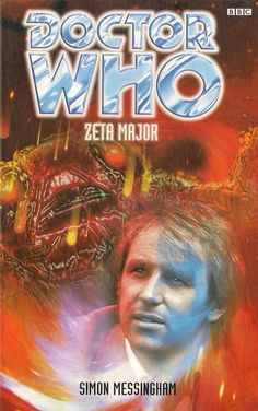 DOCTOR WHO  ZETA MAJOR by SIMON MESSINGHAM  PAPERBACK BOOK  5th DOCTOR ~~